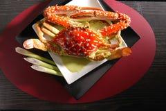 Crabe thaï de cari Photographie stock libre de droits