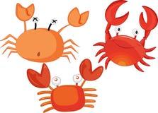 crabes illustration de vecteur