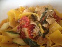Crabmeat Pasta Stock Images