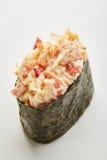 Crabmeat Seaweed Gunkan Stock Photography