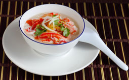 Crabmeat Soup Stock Photography