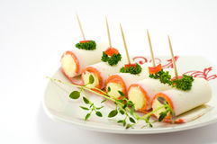 Crabmeat sticks Stock Photography