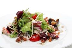 Crabmeats Salat Lizenzfreie Stockfotos