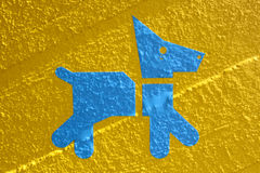 Crabot bleu Photo libre de droits