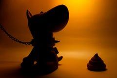 Crabot de jouet Images libres de droits