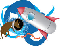 Crabot de l'espace Image libre de droits