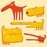 Crabots drôles Illustration de Vecteur