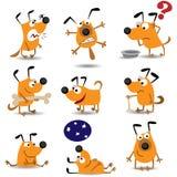 Crabots drôles réglés illustration stock