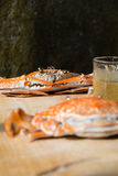 Crabs boiled Royalty Free Stock Photo