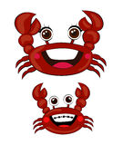 Crabs Cartoon Vector Royalty Free Stock Photo