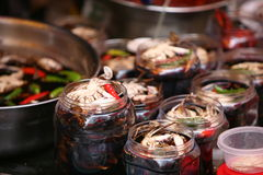 Crabs.Fish market in South Korea Royalty Free Stock Photos