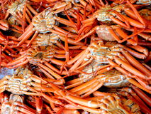 Crabs at a market Stock Photo