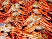Crabs at a market. Crabs at a Japanese market Stock Photo
