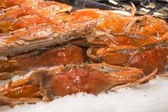 Crabs on the market Stock Photo