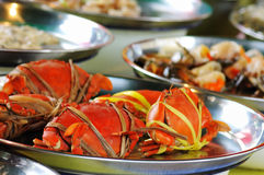 Crabs on Sale, Thailand Royalty Free Stock Images