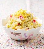 Crabsticks i majonezowa sałatka Zdjęcie Royalty Free