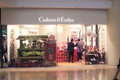 Crabtree en de winkel van Evelyn in Hongkong Royalty-vrije Stock Afbeeldingen
