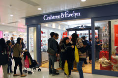Crabtree and Evelyn shop in Hong Kong Stock Image