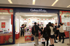 Crabtree & evelyn shop in hong kong Stock Photo