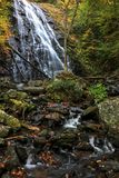 Crabtree Falls In Autumn Royalty Free Stock Image
