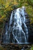 Crabtree Falls, Blue Ridge Parkway, North Carolina. October 2006 - Late afternoon shot of this beautiful 60+ foot waterfall Stock Image