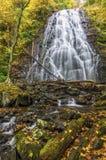 Crabtree Falls, Blue Ridge Parkway, North Carolina stock photo
