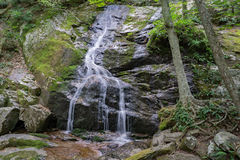 Crabtree Falls – Nelson County, Virginia, USA. Crabtree Falls is the highest vertical-drop cascading waterfall east of the Mississippi River falling a total 1 Stock Photo