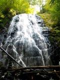 Crabtree Falls North Carolina stock images