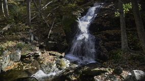 Crabtree Falls, Va. stock video footage