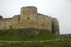 Crac des Chevaliers. Medieval castle, Syria Stock Photography