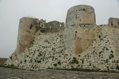 Crac des Chevaliers Royalty Free Stock Photos