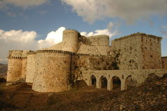 Crac des chevaliers Royalty Free Stock Image