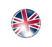 Crachá da bandeira - Grâ Bretanha ilustração stock