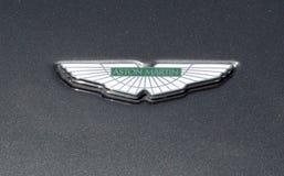 Crachá de Aston Martin Fotografia de Stock
