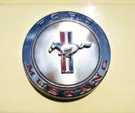 Crachá de Ford Mustang Foto de Stock