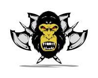 Crachá de King Kong Fotos de Stock Royalty Free