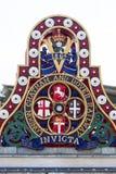 Crachá de Londres Chatham e de Dover Railway, Londres, Reino Unido imagem de stock