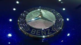 Crachá de Mercedes Imagens de Stock Royalty Free