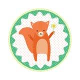 Crachá do esquilo Fotos de Stock