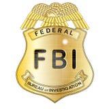 Crachá do FBI Foto de Stock