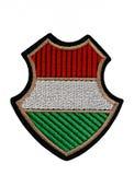 Crachá militar húngaro do ombro Imagem de Stock
