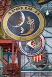 Crachás de Apollo Mission Fotos de Stock Royalty Free