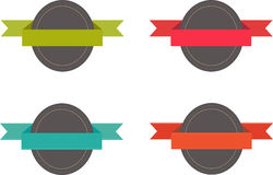 Crachás para Web site Imagem de Stock