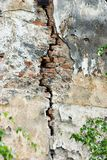Crack. In a Wall stock image