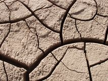 Crack. Silt cracking Royalty Free Stock Photos
