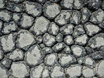 Crack asphalt texture Royalty Free Stock Images