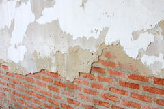 Crack of brick wall Royalty Free Stock Image