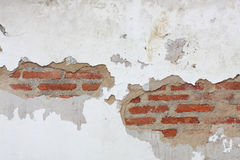 Crack of brick wall Stock Images