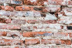 Crack brick wall Royalty Free Stock Images