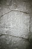 Crack cement Stock Photo
